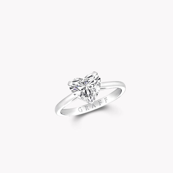 Paragon Heart Shape Diamond Engagement Ring, , hi-res