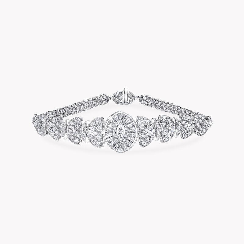 Night Moon Marquise Cut Diamond Bracelet, , hi-res
