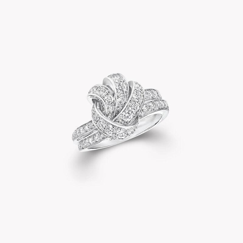 Bague en pavés de diamants Tilda's Bow, , hi-res