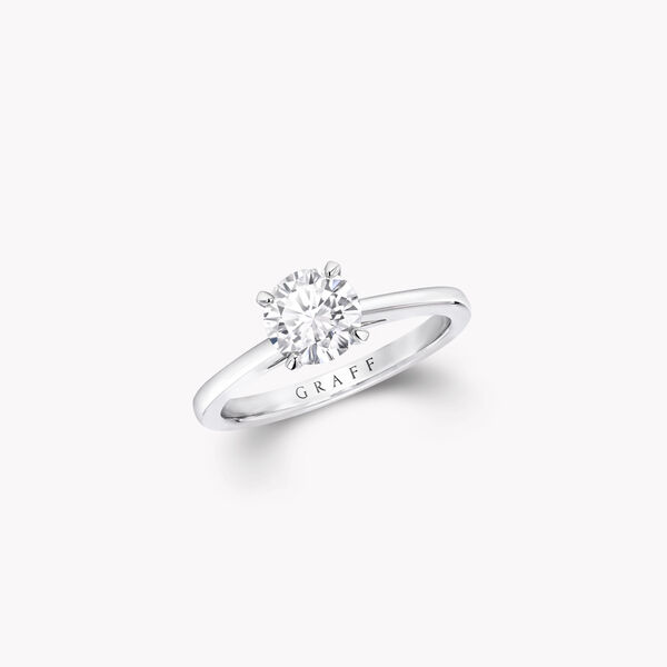 Bague de fiançailles ronde en diamants Paragon, , hi-res