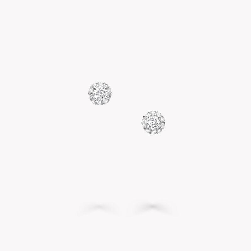 Icon Round Diamond Stud Earrings, , hi-res