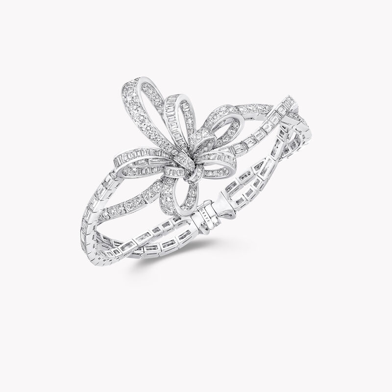 Tilda's Bow Diamond Bracelet, , hi-res