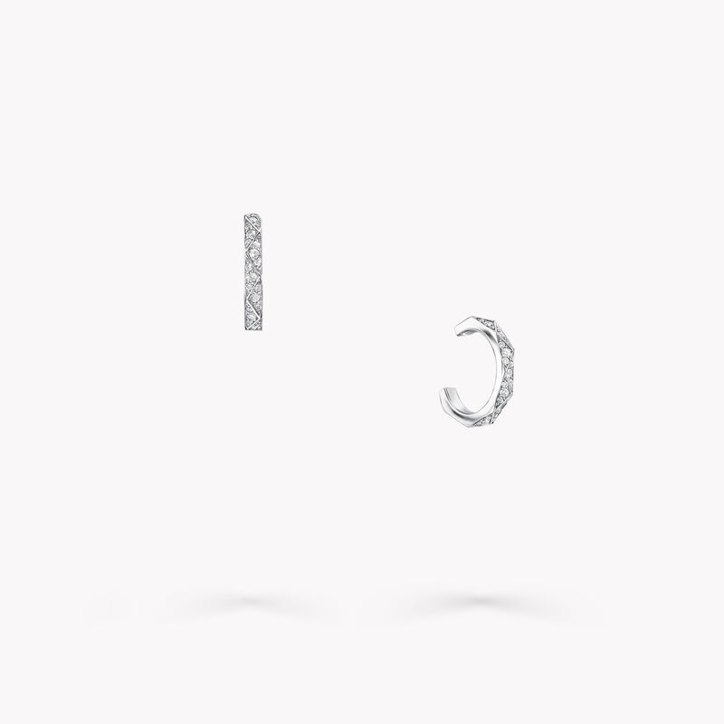 Laurence Graff Signature Pavé Diamond Hoop Earrings, , hi-res