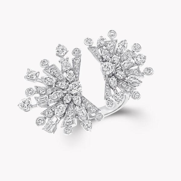 ニュードーン マルチシェイプ ダブル ダイヤモンド リング, , hi-res