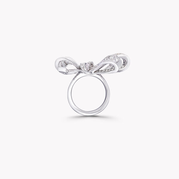 Tilda's Bow Double Knot Diamond Ring, , hi-res