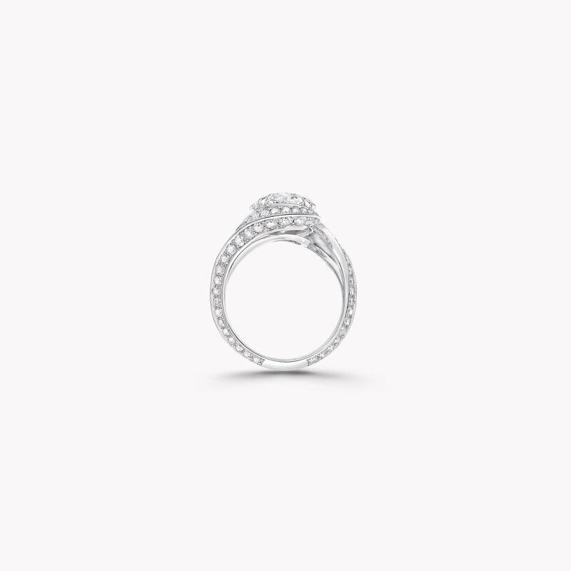 Oval Diamond High Jewellery Ring, , hi-res