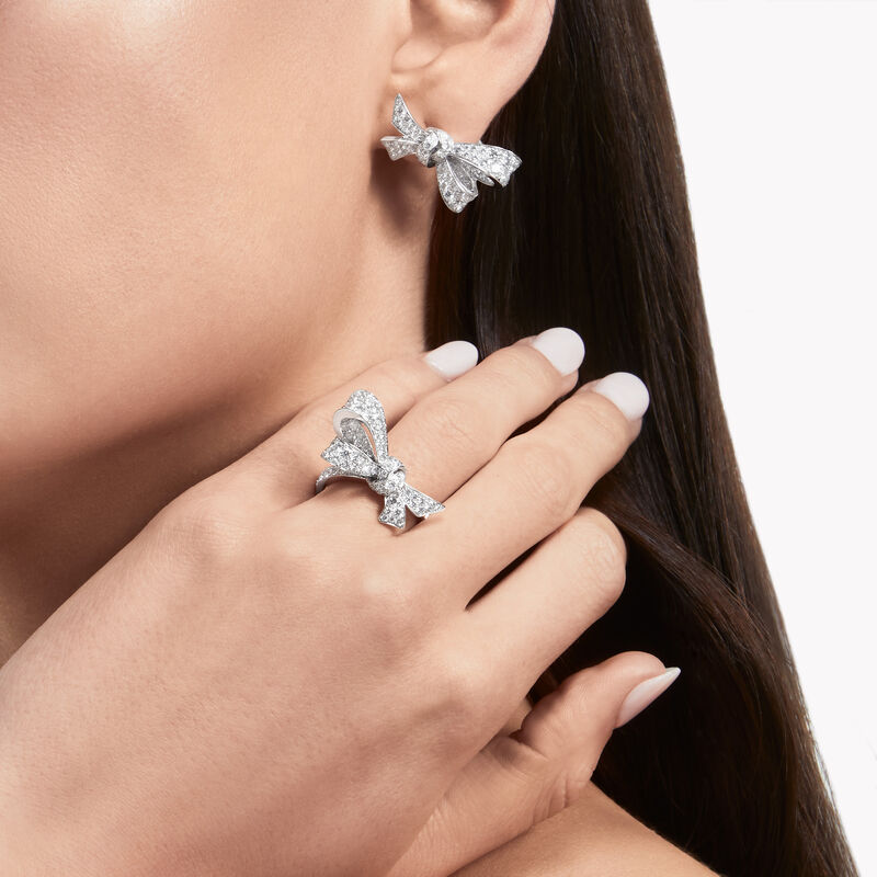 Tilda's Bow鑽石戒指, , hi-res