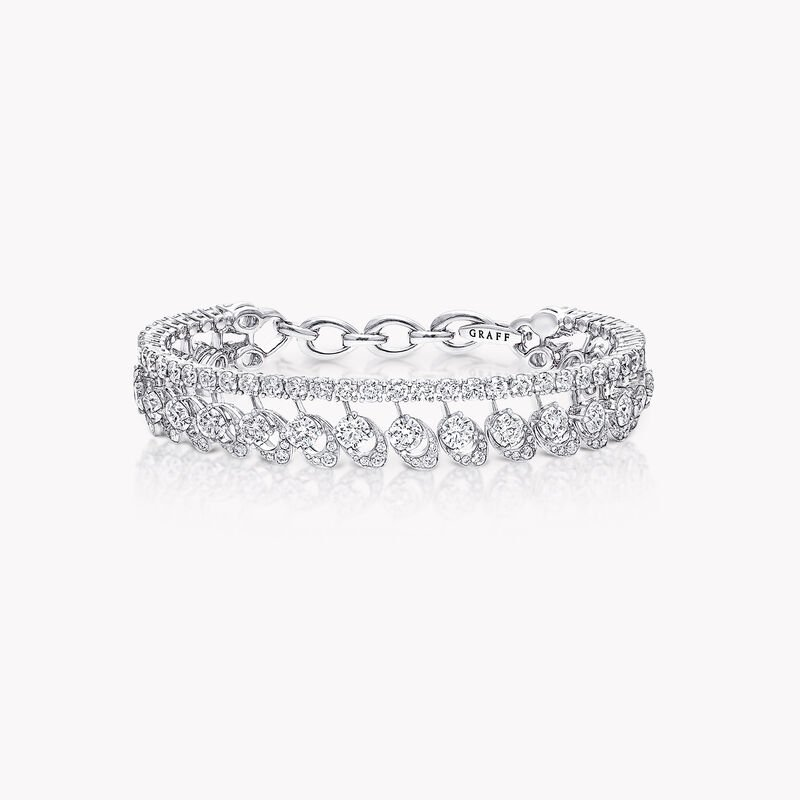 Graff Gateway Double Row Diamond Bangle, , hi-res