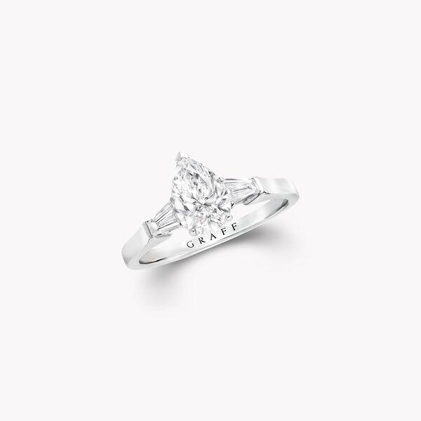 プロミス ペアシェイプ ダイヤモンド エンゲージメントリング, , hi-res