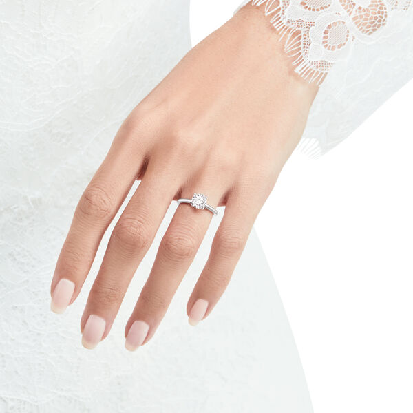 Paragon圓形鑽石訂婚戒指, , hi-res