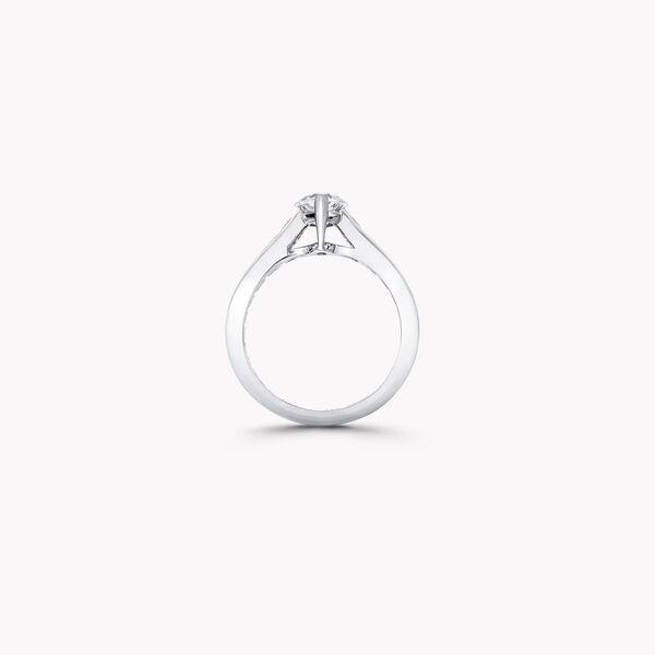 Flame馬眼形切割鑽石訂婚戒指, , hi-res