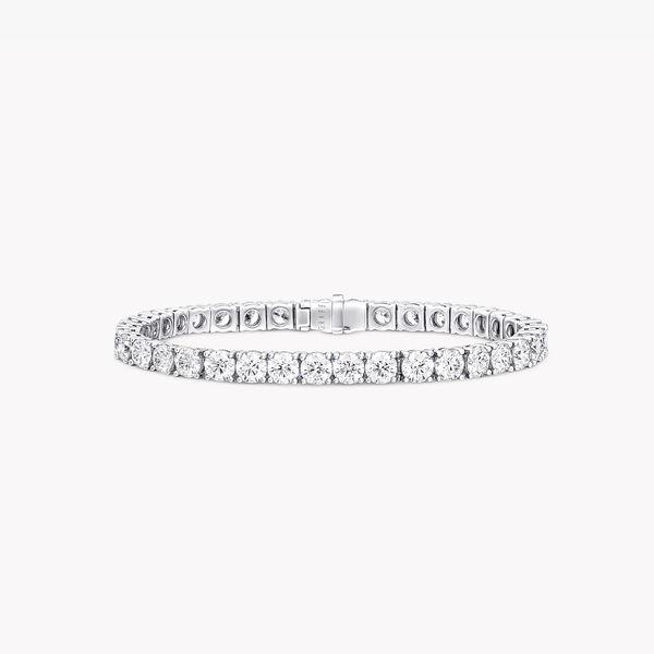 Round Diamond Bracelet, , hi-res