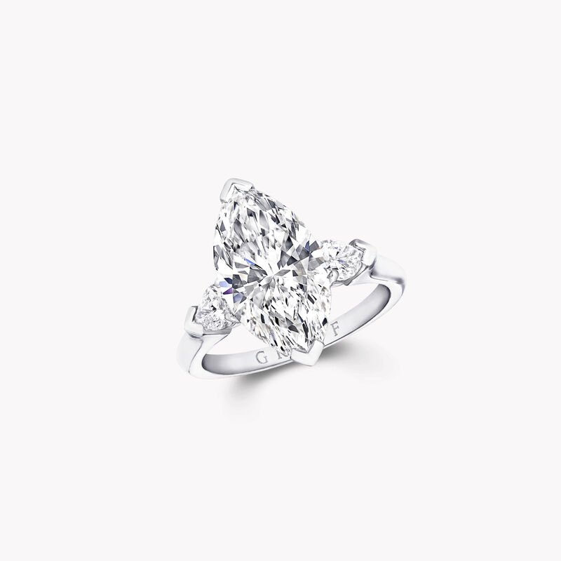 Promise Marquise Cut Diamond Engagement Ring, , hi-res