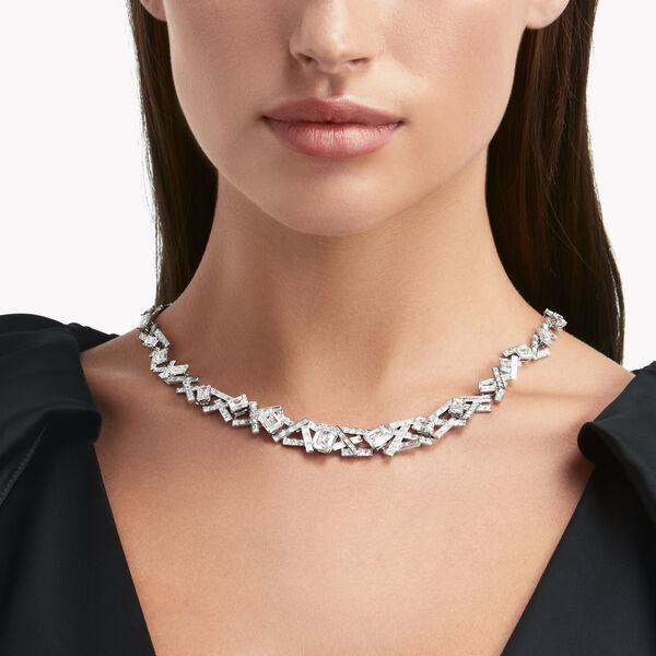 Collier de haute joaillerie en diamants Threads, , hi-res