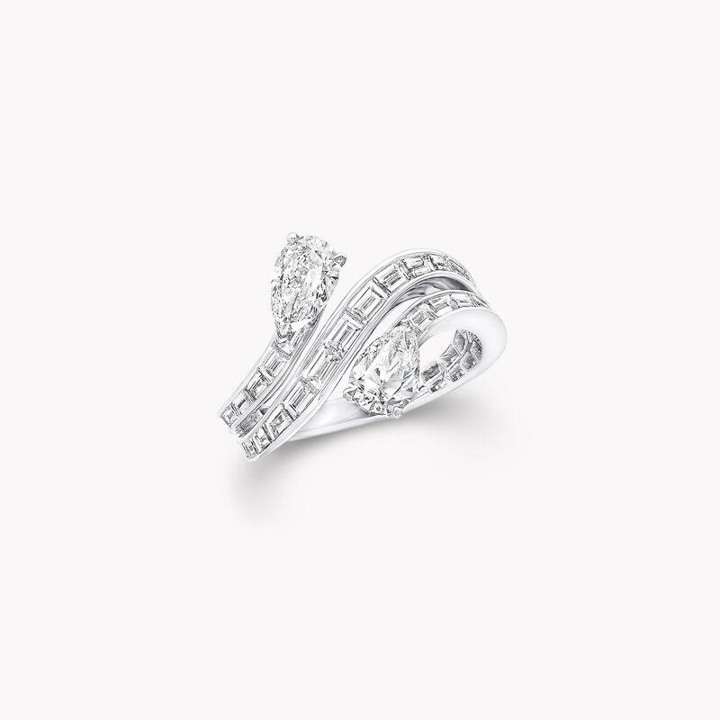 デュエット トリプル ロウ ダイヤモンド リング, , hi-res