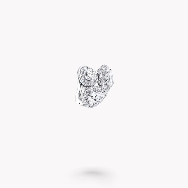 Icon Multi Shape Diamond Earrings, , hi-res