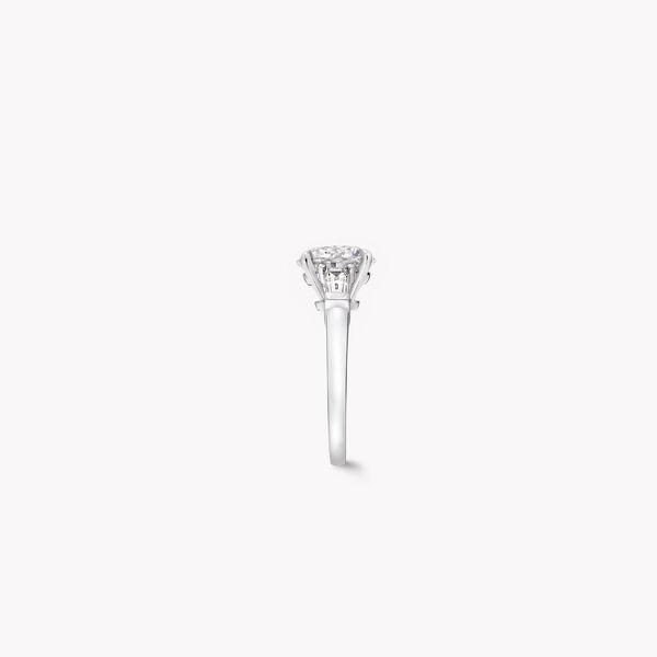Promise Round Diamond Engagement Ring, , hi-res