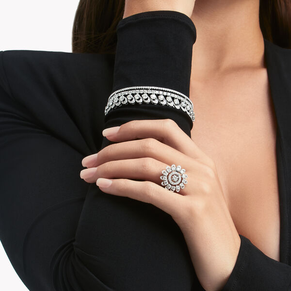 Graff Gateway Pavé Diamond Ring, , hi-res