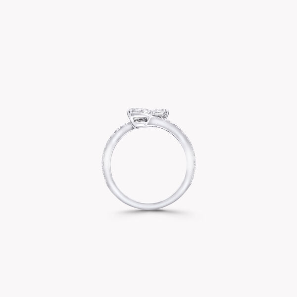 Duet Wraparound Diamond Ring, , hi-res