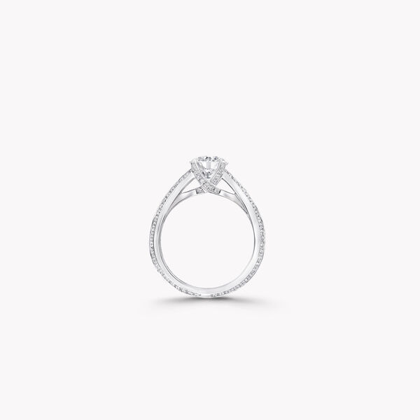 Legacy Round Diamond Engagement Ring, , hi-res