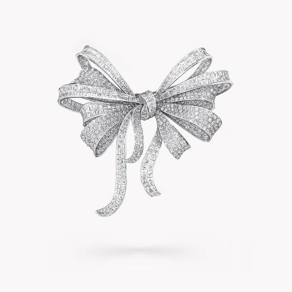 Tilda's Bow Diamond High Jewellery Brooch, , hi-res