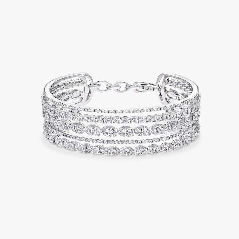 Graff Gateway Five Row Diamond Bangle, , hi-res