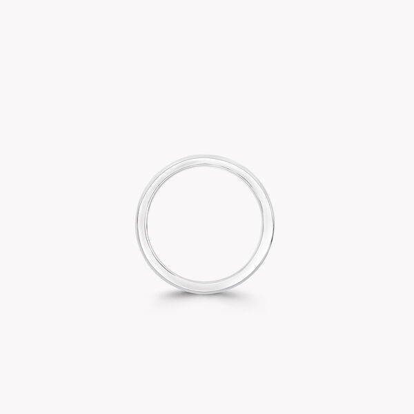 D Shape Wedding Band, , hi-res