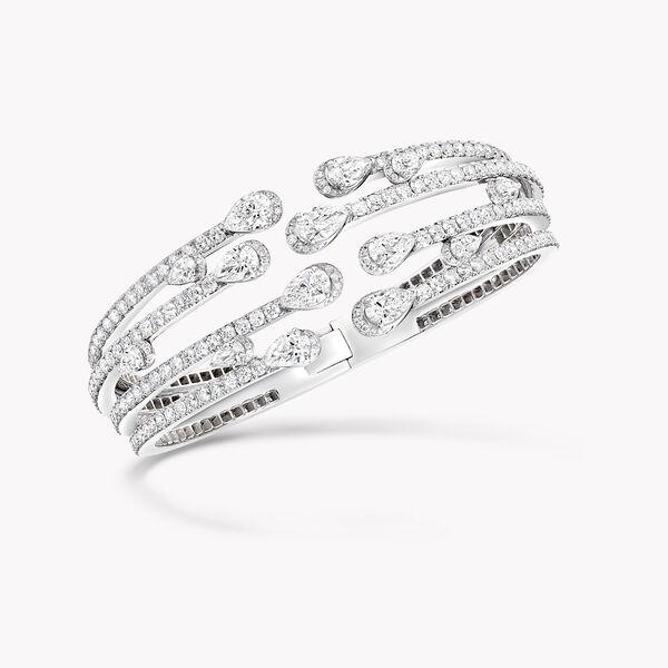 Bracelet rigide en diamants multibrin Duet, , hi-res