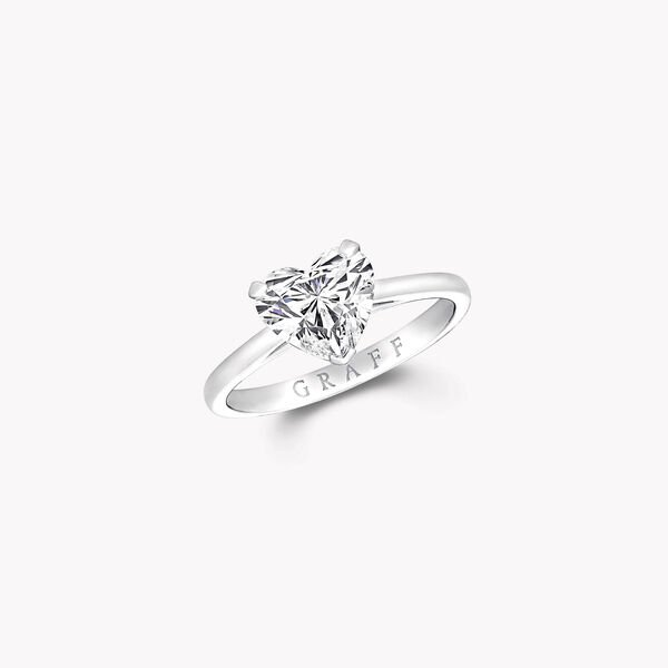 Paragon心形鑽石訂婚戒指, , hi-res