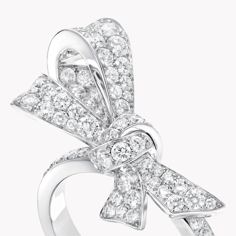 Tilda's Bow Diamond Ring, , hi-res