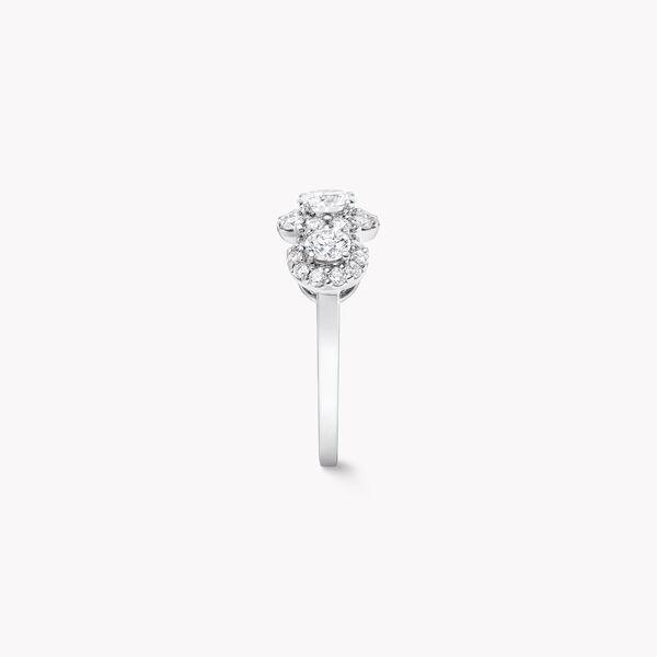 Icon三顆圓形鑽石戒指, , hi-res