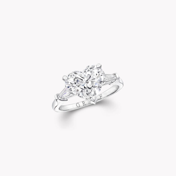 Promise Heart Shape Diamond Engagement Ring, , hi-res