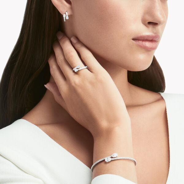 Boucles d'oreilles «cerceaux» en diamants Duet, , hi-res