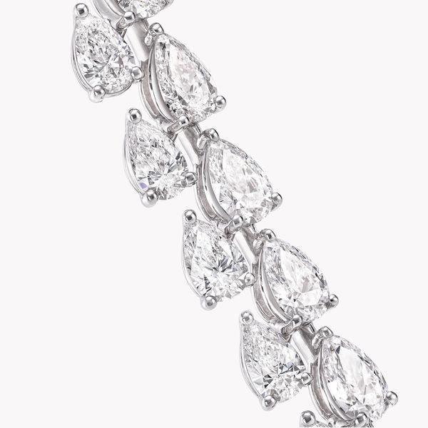 Bracelet en diamants en forme de poire, , hi-res