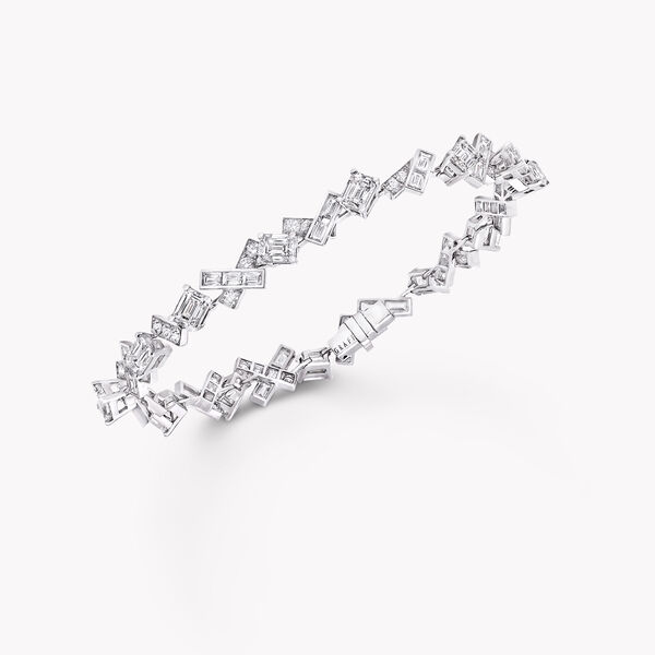 Threads Diamond Bracelet, , hi-res