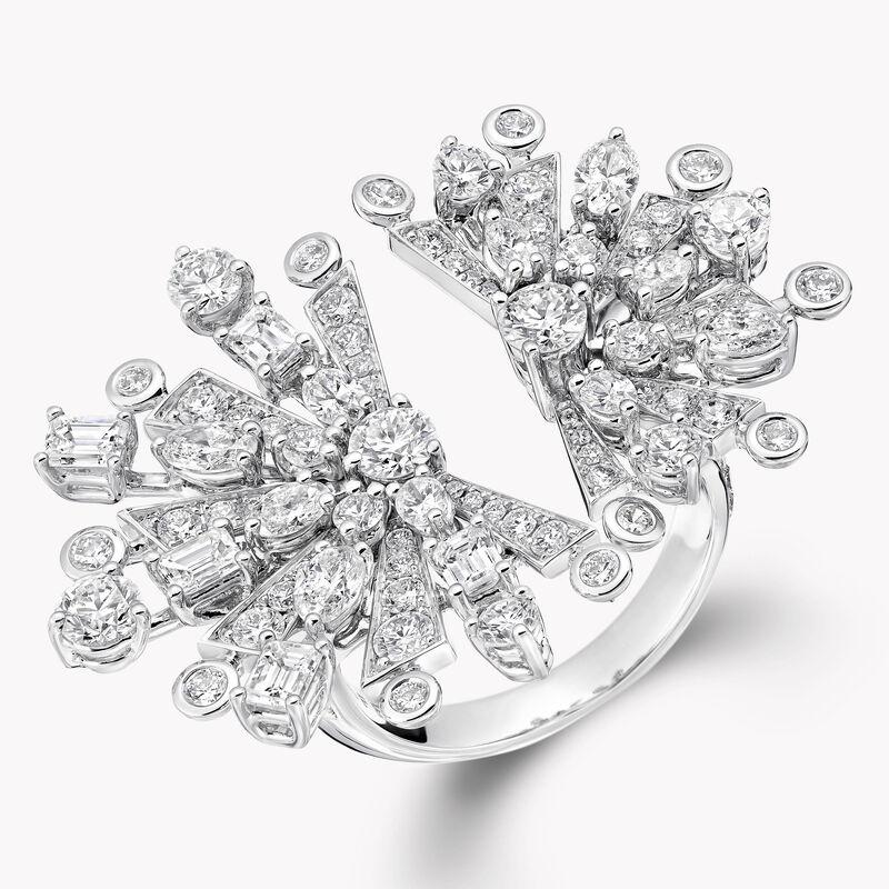 Bague en diamants motif La Nouvelle Aube, , hi-res