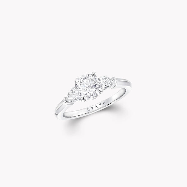 Promise Round Diamond Engagement Ring, , hi-res