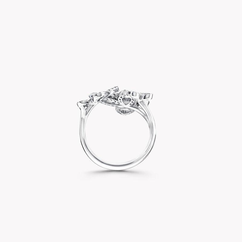 蝴蝶幻影三重奏钻石戒指, , hi-res