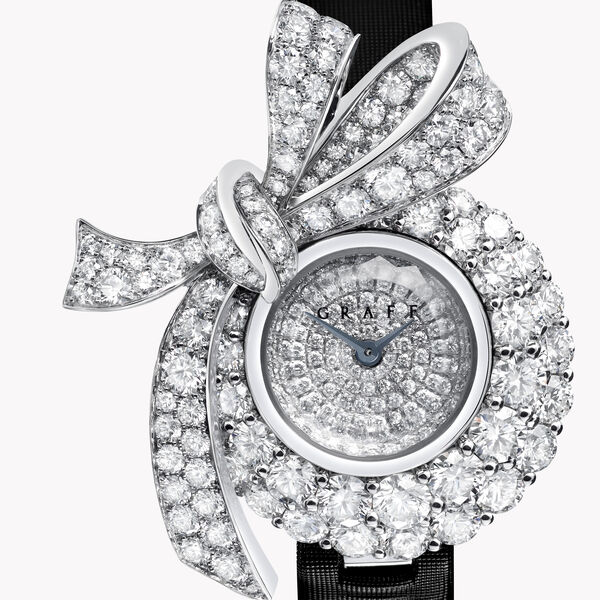 Tilda's Bow Diamond Watch, , hi-res
