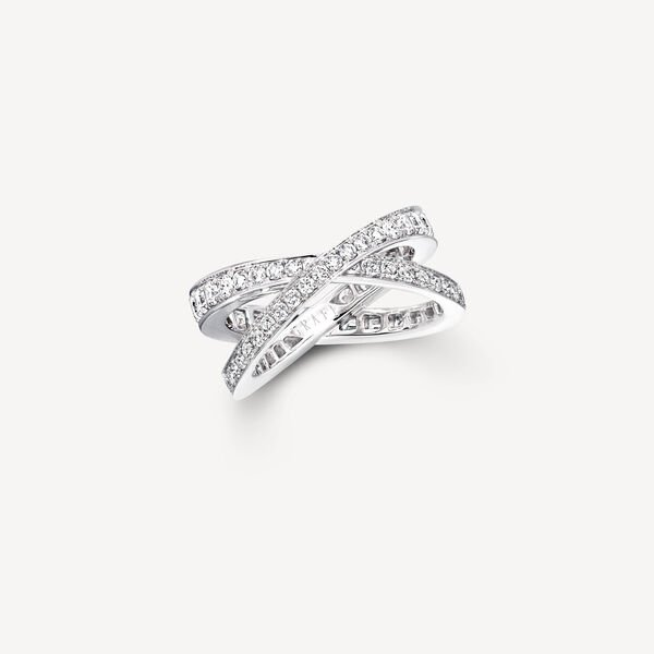 Kiss Pavé Diamond Ring, , hi-res