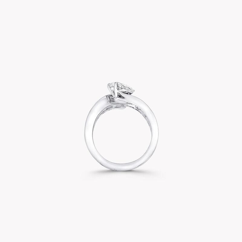 Duet三行鑽石戒指, , hi-res