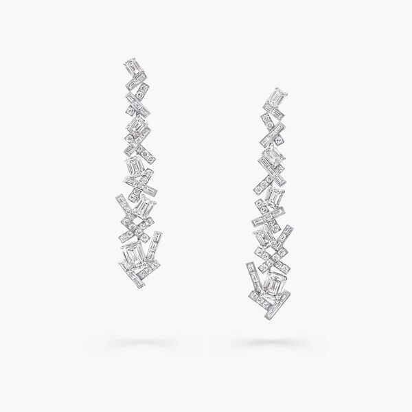 Threads Classic Diamond Drop Earrings, , hi-res