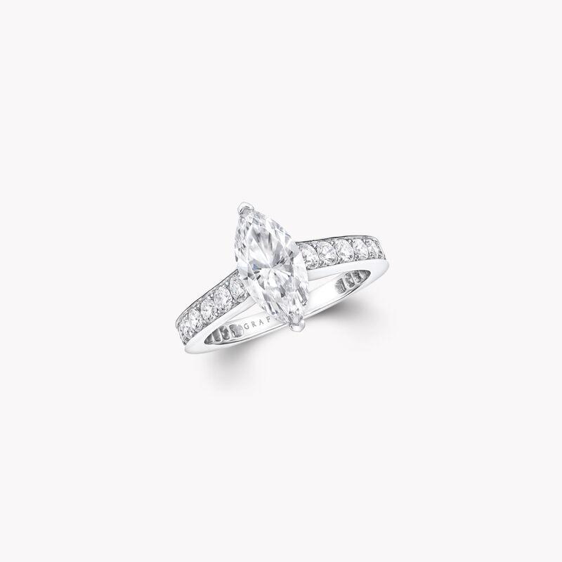 Bague de fiançailles en diamants taille marquise Flame, , hi-res