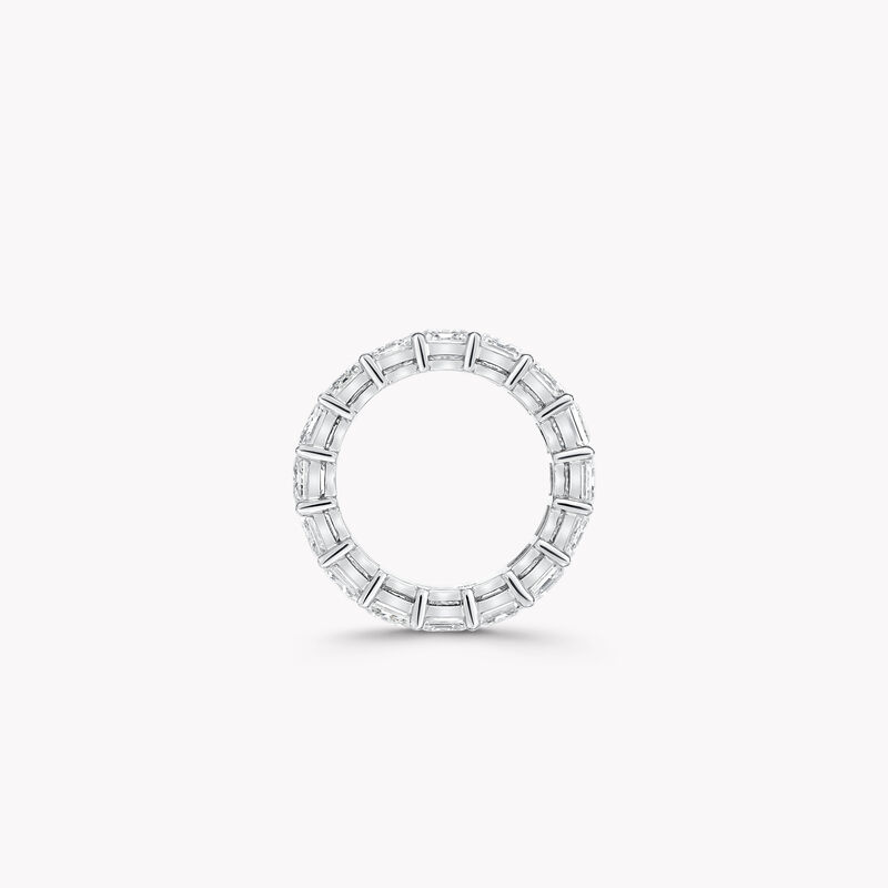 Alliance en diamants taille émeraude, , hi-res