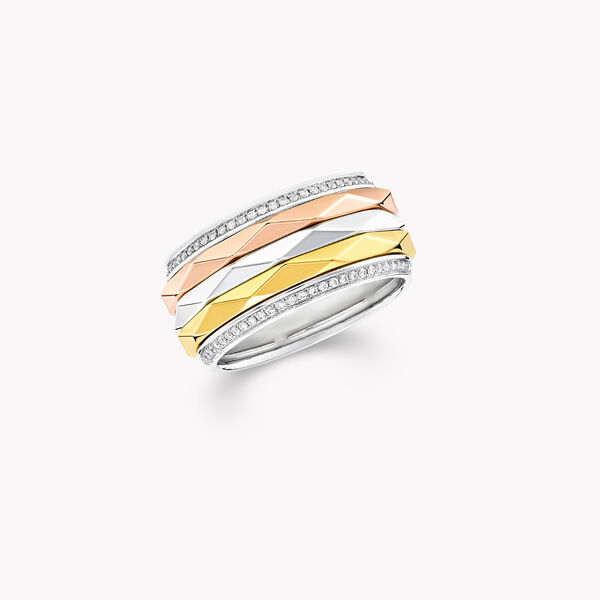 Laurence Graff Signature Triple Spinning Diamond Band, , hi-res