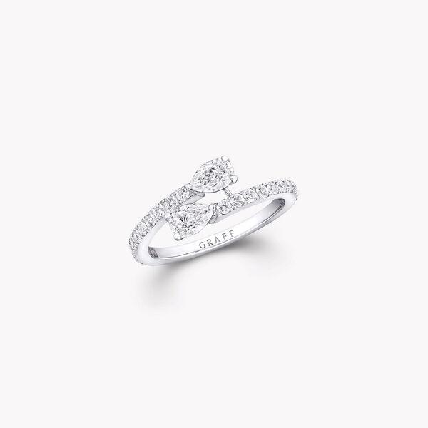 Bague en diamants Duet à enrouler autour du doigt, , hi-res