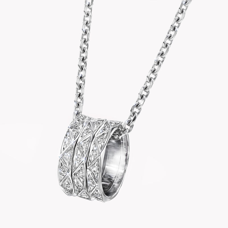 Laurence Graff Signature Triple Pavé Diamond Pendant, , hi-res