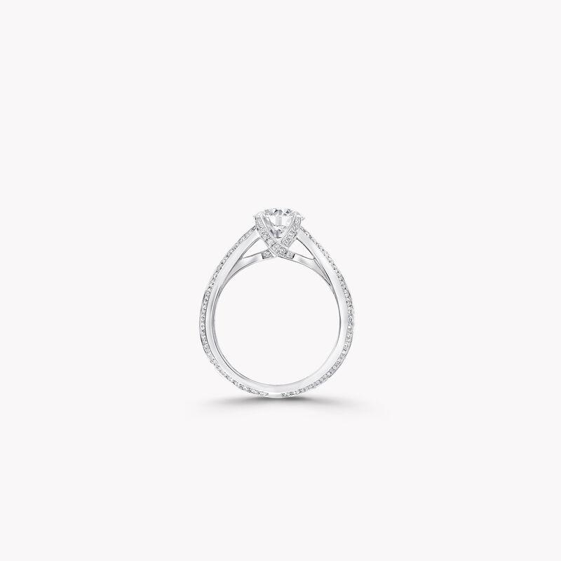 レガシー ラウンド ダイヤモンド エンゲージメント リング, , hi-res