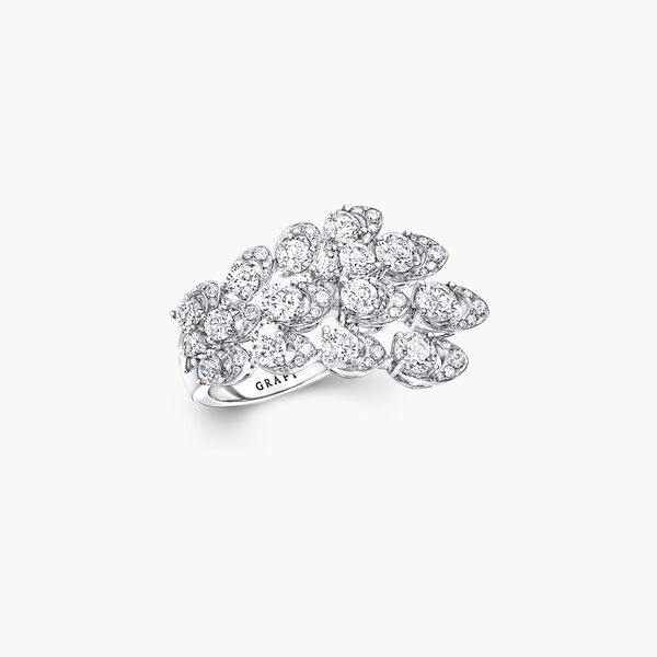 Graff Gateway Triple Row Diamond Ring, , hi-res