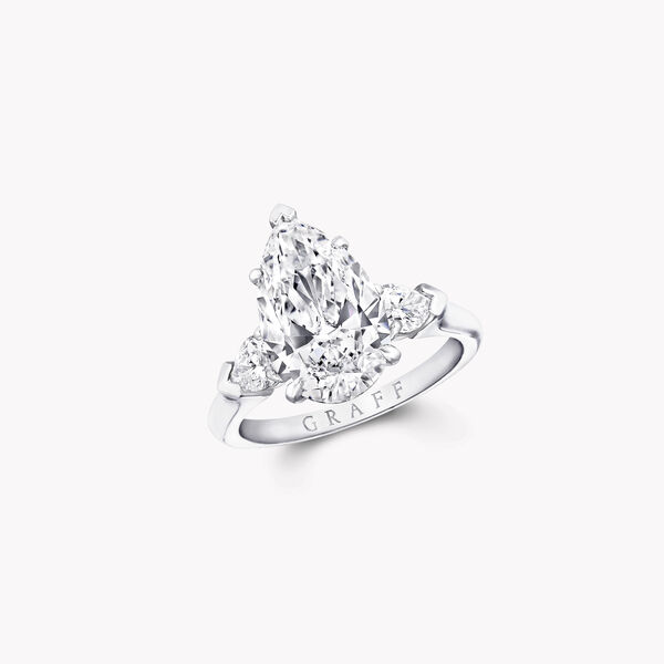 Promise Pear Shape Diamond Engagement Ring, , hi-res